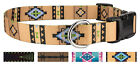 10 Country Brook Petz Deluxe Dog Collars Country and Western Collection