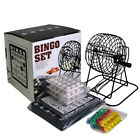 Bingo Lotto Lottery Numbers Picking Lucky Machine Family Party Balls Cards Gifts