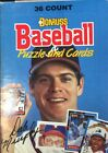 Brand New 1988 Donruss Baseball Puzzle & Cards Wax Box 24 Packs of 36 Cards each