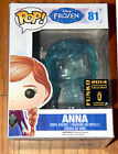 NEW FUNKO POP DISNEY 81 Clear ANNA FROZEN SDCC 2014 CONVENTION EXCLUSIVE