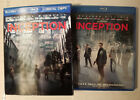 Inception 3-disc set with a rare LENTICULAR Slip Cover Blu-ray/DVD. Played Once