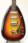 VOX 1960s V222 MARK VI Teardrop / Sunburst Vintage from japan (122