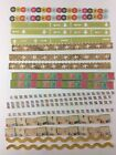 Border Die Cut Stickers for Scrapbooking 12 Lot of 18 KCompany Travel Postcard