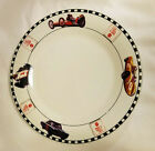 SAKURA - Coca Cola Dinner Plate - Race Car Theme
