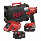 Milwaukee M18 CIW38 Fuel™ Compact Impact Wrench with 2 Batteries and Sturdy Case