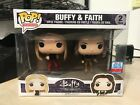 FUNKO POP BUFFY FAITH VAMPIRE SLAYER 2-PACK NEW YORK COMIC CON NYCC EXCLUSIVE