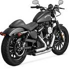 Vance  Hines Short Shots Staggered Exhaust System Chrome 17219 HD Sportster