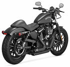 Vance  Hines Shortshots Staggered Black Exhaust For 2014 2016 Harley XL883N