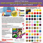 SISER EASYWEED IRON ON HTV HEAT TRANSFER VINYL 15 x 912 1 3 AND 5 YARDS