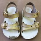 SaltWater Sandals 3 Baby Girl Sea Wee gold leather Salt Water Shoes Sun San Play
