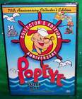 NEW POPEYE SAILOR MAN 75TH ANNIVERSARY COLLECTOR'S EDITION 34 CARTOONS TV DVD