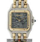 Cartier Panthere Steel & 18k Yellow Gold Three Row 22mm Marble Dial 6692