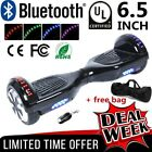 Hoverboard UL Listed 65 Self Balance Electric Scooter Bluetooth + LED Light BP