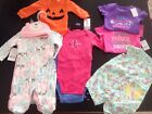 Carters Baby Girl Infant size 0 3 months Lot of 8 brand new outfits