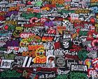 PROMOTION Lot Iron On Patch Wholesale Music Band Metal Punk Rock n Roll H