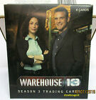 Warehouse 13: Season Three, 1 PACK of Premium Trading Cards, Ltd to 200 Boxes