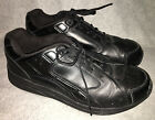 Drew Size 14 W Force Black Tennis Shoes Sneaker Leather Walking Athletic Lace Up