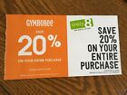 Crazy 8 and Gymboree 20 Off Entire Purchase Coupon Expires April 3 2018