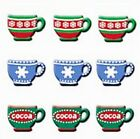 HOTP CHRISTMAS MUGS Brads Cocoa Tea Coffee Scrapbooking Stamping Card Making
