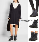 Vince Womens Boots Claudia Suede and Shearling Booties