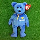 MWMT Ty Beanie Baby Louisiana The Bear Retired Red Cross Relief  - FREE SHIPPING