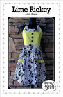 Sew Much Good Lime Rickey Apron Pattern Adult Sizes S M L XL