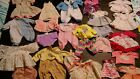 DOLL CLOTHES CLOTHING LOT Assorted styles  sizes
