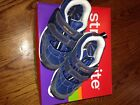 Stride Rite Boys Rio Washable Blue Leather Sneakers Size 95W