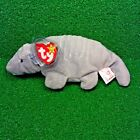 RARE Ty Beanie Baby TANK Armadillo 7-Line No Shell & 3rd Gen Canadian Tush MWMT