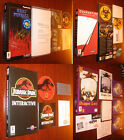 4 LONG BOX 3DO GAMES- DRAGON LORE - JURASSIC PARK - QUARANTINE - REAL PINBALL