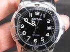 NEW OLD STOCK NOS SECTOR 200 3253208095 SPORTS 100M DATE QUARTZ MENS WATCH