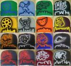 AHL Team Airbrushed Beanies NEW Skull Cap Skyline American Hockey League Minor