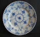 Royal Copenhagen Blue Fluted Full Lace Salad Plate 1086 Second