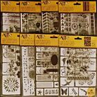 Art C STAMP STENCIL LOT to choose from