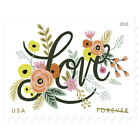 US Scott  5255 2018 Love Flourishes 49 cent Forever stamps Single MNH
