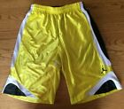 Youth boys size Large Air Jordan basketball shorts yellow black white
