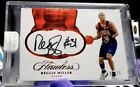 2016-17 Panini Flawless Reggie Miller USA Basketball Auto HOF PACERS RUBY 15!