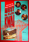 BRIDGE ON THE RIVER KWAI 1970 WWII DAVID LEAN HOLDEN RARE EXYU MOVIE POSTER