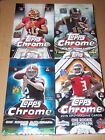(4) 2012 2013 2014 2015 TOPPS CHROME FOOTBALL HOBBY BOXES - SEALED - FROM CASE