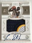 Lance Stephenson 2010-11 Panini National Treasures Rookie RC Patch Auto SP 71 99