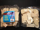 Unfinished 1 lb Bag Wood Wooden Shapes 1 2 Thick Tole Rubber Stamps Free Ship