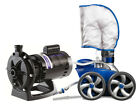 Polaris 3900 Sport Automatic Pool Cleaner with Pump F6 P