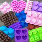 Valentines Love Silicone Mold Chocolate Butter Candle Candy Ice Soap Jelly USA