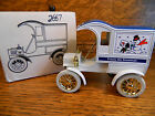 ERTL 1905 Delivery Car Truck Bank 1987 Frosty Snowman Christmas Limited Ed 1/500