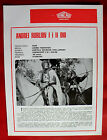 ANDREI RUBLEV 1970 RUSSIAN SOLONITSYN LAPIKOV TARKOVSKY EXYU MOVIE PROGRAM 2