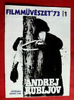 ANDREI RUBLEV 1966 RUSSIAN SOLONITSYN LAPIKOV TARKOVSKY HUNGARIAN MOVIE PROGRAM