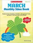 March Monthly Idea Book Ready to Use Templates Activities Management Tools