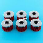 5x Oil Filter For Honda Rancher 350 420 TRX300EX TRX400 Fourtrax 300 Foreman 500