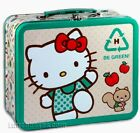 Hello Kitt Metal Lunchbox  SANRIO. Pre owned.