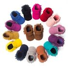 Faux Suede Leather Newborn Baby Boy Girl Baby Moccasins Soft Moccs Shoes Bebe